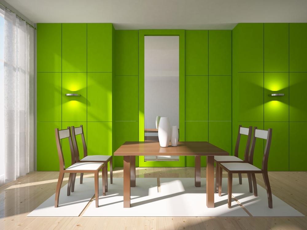 Le vernici per il parquet della gamma Solid ben si combinano con il greenery
