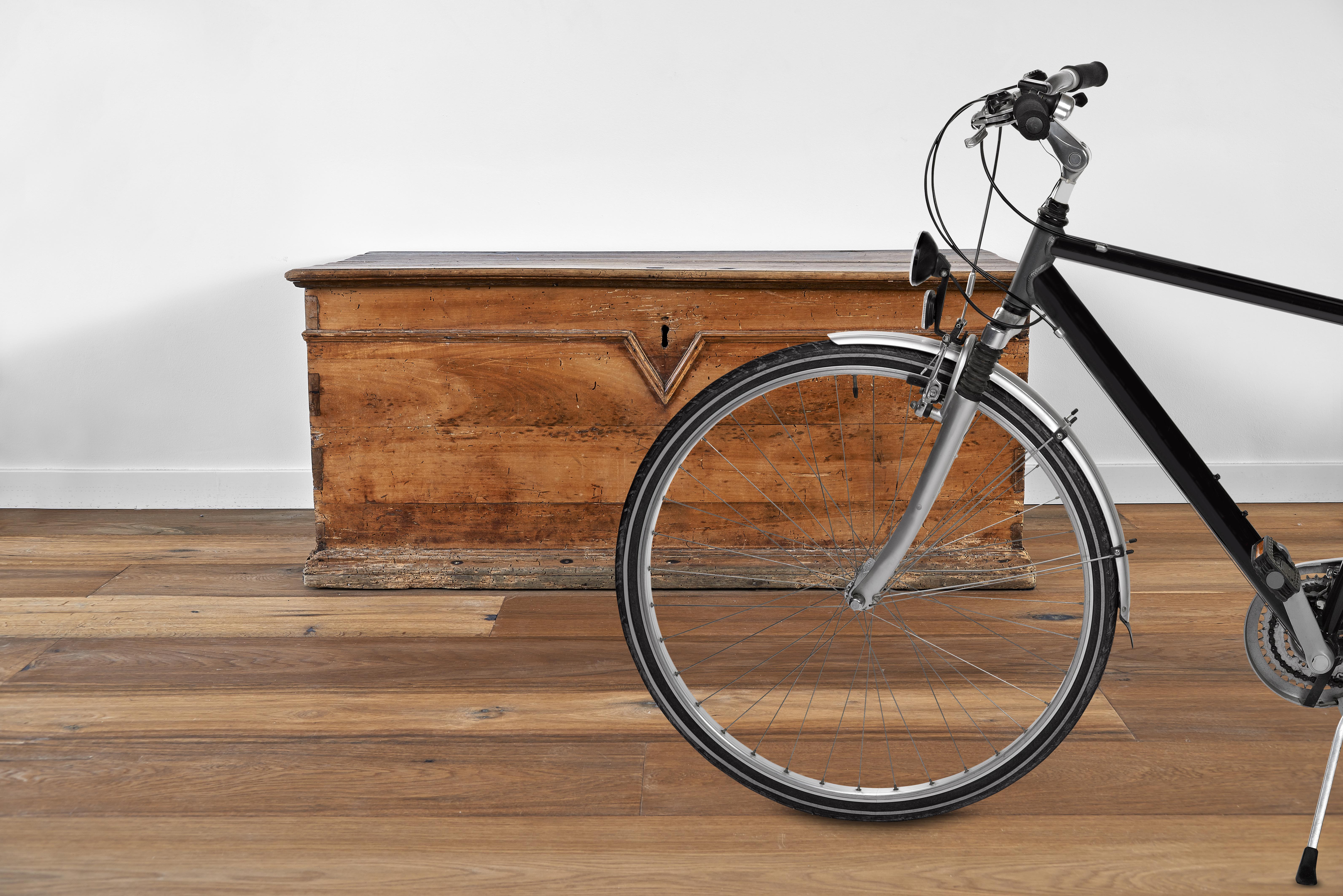 parquet con legno di recupero